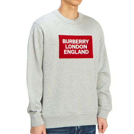 Burberry Long Sleeve Street Style Long Sleeves Plain Cotton Long Sleeve T-shirt 4