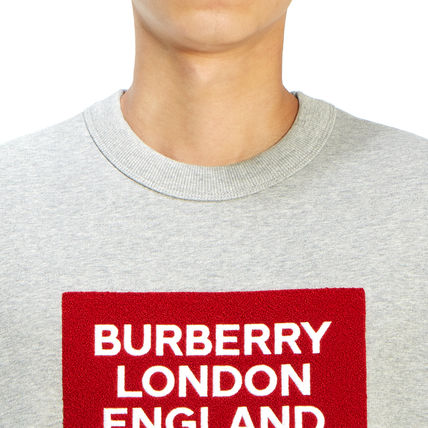 Burberry Long Sleeve Street Style Long Sleeves Plain Cotton Long Sleeve T-shirt 7