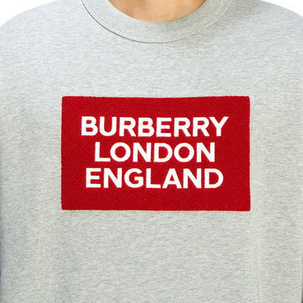 Burberry Long Sleeve Street Style Long Sleeves Plain Cotton Long Sleeve T-shirt 9