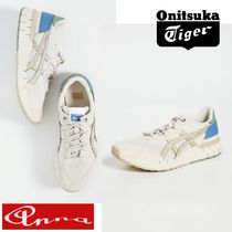 Onitsuka Tiger Unisex Suede Blended Fabrics Street Style Plain Sneakers