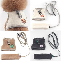 MONCHOUCHOU Unisex Street Style Shearling Pet Supplies