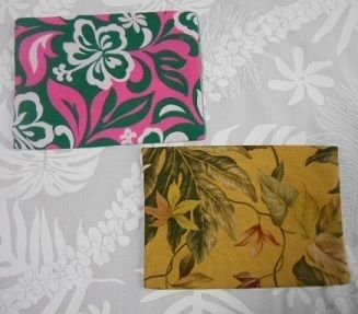 Flower Patterns Pouches & Cosmetic Bags