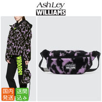 Ashley Williams Street Style Other Animal Patterns Shoulder Bags