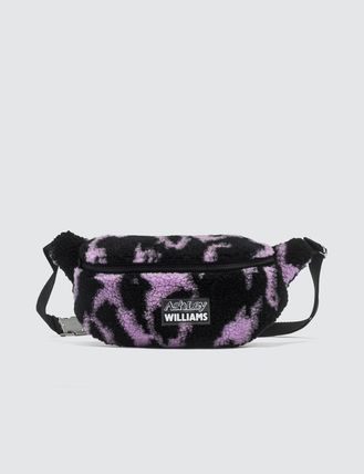 Street Style Other Animal Patterns Logo Shoulder Bags