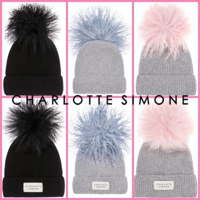 CHARLOTTE SIMONE Keychains & Bag Charms Blended Fabrics Street Style Keychains & Bag Charms