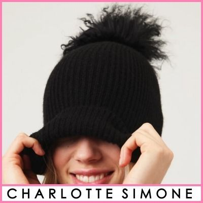 CHARLOTTE SIMONE Blended Fabrics Street Style Keychains & Bag Charms