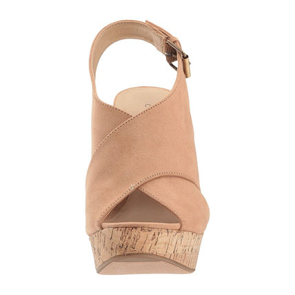 CHINESE LAUNDRY Open Toe Casual Style Plain Platform & Wedge Sandals