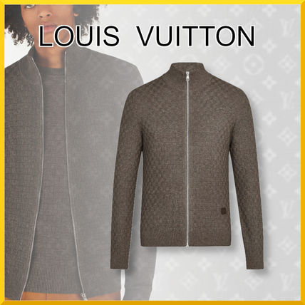 Louis Vuitton Knits & Sweaters Wool Long Sleeves Cotton Knits & Sweaters