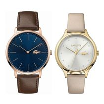 LACOSTE Casual Style Round Quartz Watches Analog Watches
