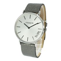Coach Round Quartz Watches Analog Watches