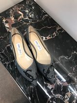 Jimmy Choo Casual Style Office Style Elegant Style Pointed Toe Shoes