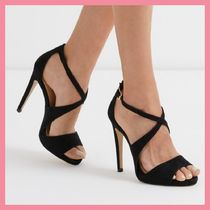 Lipsy Open Toe Plain Pin Heels Party Style Heeled Sandals
