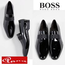 Hugo Boss Loafers Plain Leather Loafers & Slip-ons