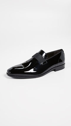 Loafers Plain Leather Loafers & Slip-ons