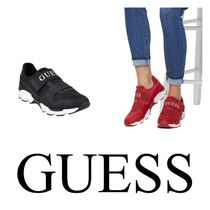 Guess Unisex Street Style Plain Low-Top Sneakers