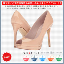 CHINESE LAUNDRY Open Toe Casual Style Pin Heels Stiletto Pumps & Mules