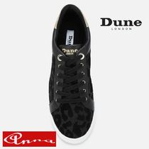 Dune LONDON Leopard Patterns Round Toe Casual Style Blended Fabrics