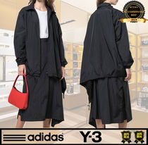 Y-3 Unisex Street Style Collaboration Plain Shirts & Blouses