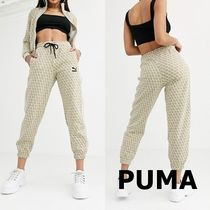 PUMA Casual Style Sweat Street Style Cotton Sweatpants