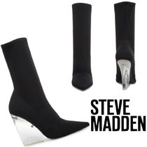 Steve Madden Casual Style Plain Elegant Style Wedge Boots