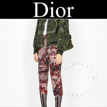 Christian Dior Casual Style Street Style Other Animal Patterns Cotton