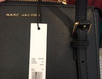 MARC JACOBS Plain Leather Crossbody Formal Style  Bridal Shoulder Bags