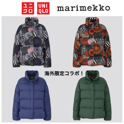 Flower Patterns Collaboration Down Jackets