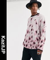 ASOS Leopard Patterns Street Style Long Sleeves Knits & Sweaters