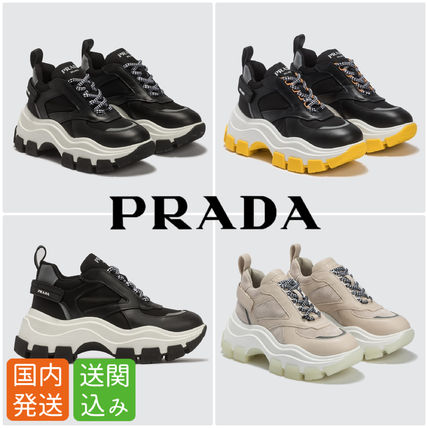 Platform Rubber Sole Casual Style Unisex Street Style