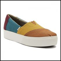 TOMS Casual Style Plain Office Style Slip-On Shoes