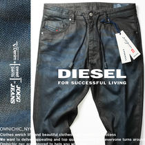DIESEL JOGG JEANS Tapered Pants Camouflage Denim Joggers Jeans