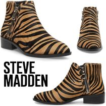 Steve Madden Casual Style Street Style Plain Other Animal Patterns