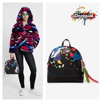 Desigual Casual Style Backpacks