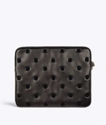 Dots Office Style Elegant Style Formal Style  Bags