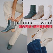 Paloma Wool Rubber Sole Casual Style Blended Fabrics Street Style Plain