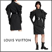 Louis Vuitton Stripes Wool Silk Party Style Elegant Style Formal Style