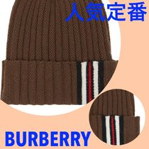 Burberry Blended Fabrics Street Style Special Edition Knit Hats