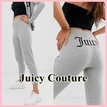 JUICY COUTURE Sweat Street Style Plain Sweatpants