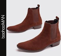 boohoo Faux Fur Street Style Chelsea Boots Chelsea Boots