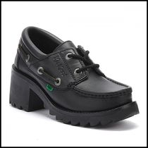 Kickers Casual Style Plain Office Style Loafer & Moccasin Shoes