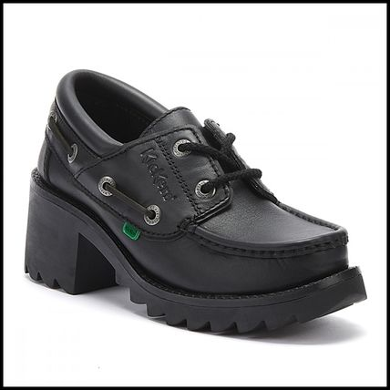 Shop Kickers Casual Style Plain Office