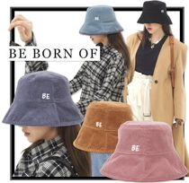BE BORN OF Unisex Street Style Wide-brimmed Hats
