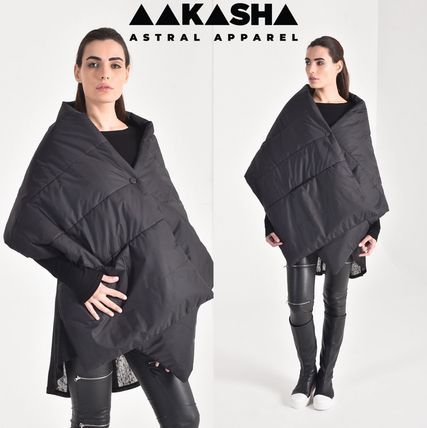 Short Plain Handmade Ponchos & Capes