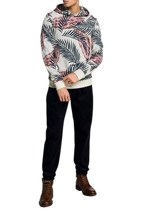 Pullovers Tropical Patterns Sweat Street Style Long Sleeves