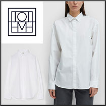 TOTEME Casual Style Long Sleeves Plain Office Style Oversized