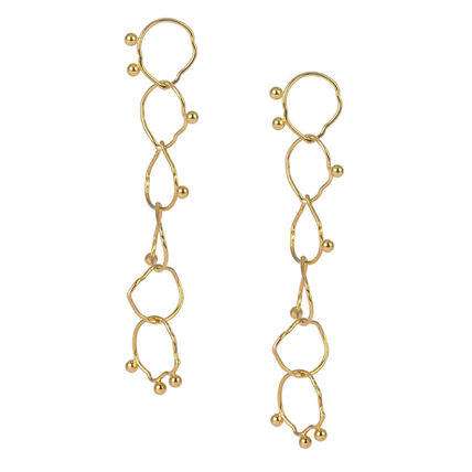 Casual Style Office Style Elegant Style Earrings