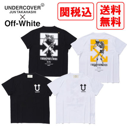 UNDERCOVER More T-Shirts Unisex Street Style Cotton T-Shirts