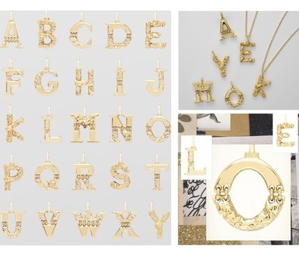 Initial Chain Brass Necklaces & Pendants