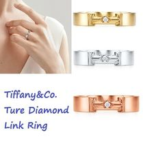Tiffany & Co Tiffany T 18K Gold Elegant Style Rings