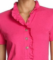 Tory Burch Casual Style Plain Cotton Short Sleeves Office Style